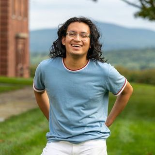 """#AmherstVoices for #LatinxHeritageMonth: """"I like to think of it [the same way..."""