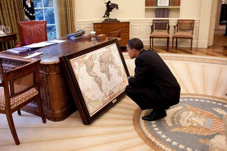 Obama studies map