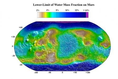 Water Content of Martian Soil