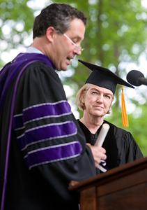 Dame Marjorie Scardino, Honorary Degree Recipient