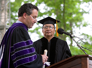 Walter Dean Myers, Honorary Degree Recipient