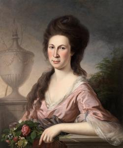 Mary Claypoole   Peale (1753-1829) by Charles Wilson Peale