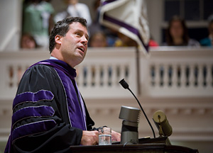 President Anthony W. Marx, 2007 Convocation