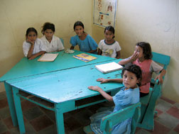 School Children in the Honduras