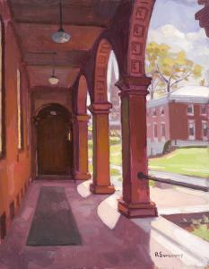 Fayerweather Hall by Bob Sweeney