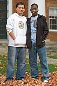 Marcelo Cifuentes '11 and Edward Muguza '11