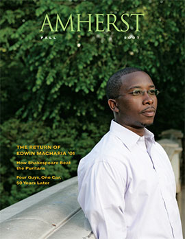 Amherst Magazine: Fall 2007
