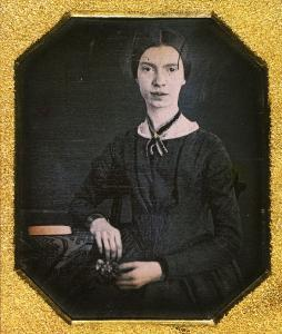 Emily Dickinson. Daguerreotype. Ca. 1847.
