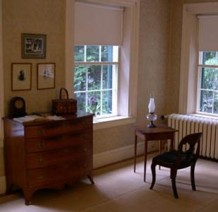 Emily Dickinson's Bedroom.