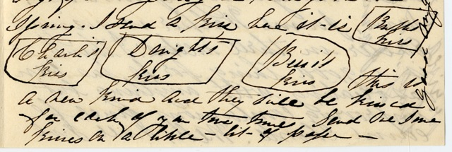 Mary to Sam IV & Sallie, March 6, 1871
