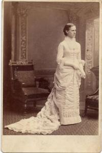 Elizabeth Hoar Bowles, c. 1885