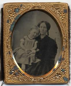 Ambrotype -- a young Mary Bowles?