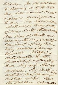 Sam Bowles to Charles Allen, c. April, 1862
