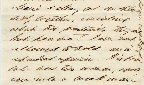 Sam Bowles to Charles Allen, October 19, 1863