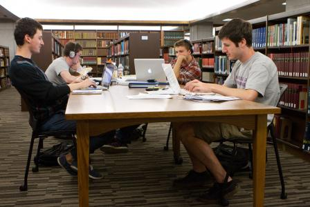 Amherst College Library Study Rooms