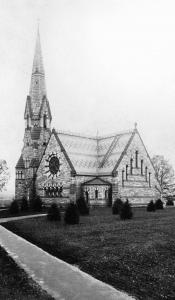 Stearns Church and Steeple, 1873-1949</p>(Click image to view slideshow of images)</p>