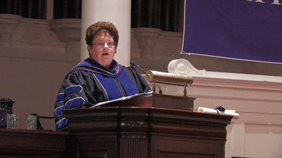 Biddy Martin, Convocation 2012