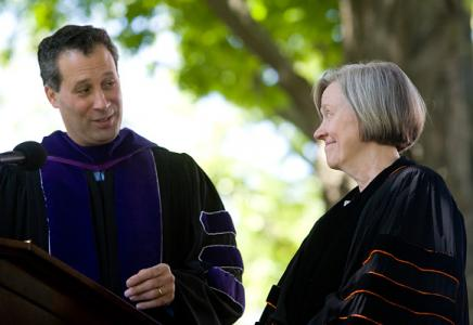 Honorary degree recipient Shirley M. Tilghman
