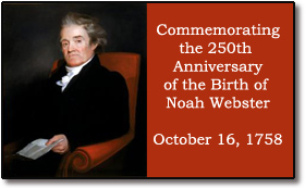 Noah Webster 250th