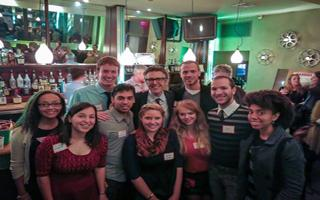 Careers in Communications Raffle Winners Attend Ira Glass Event