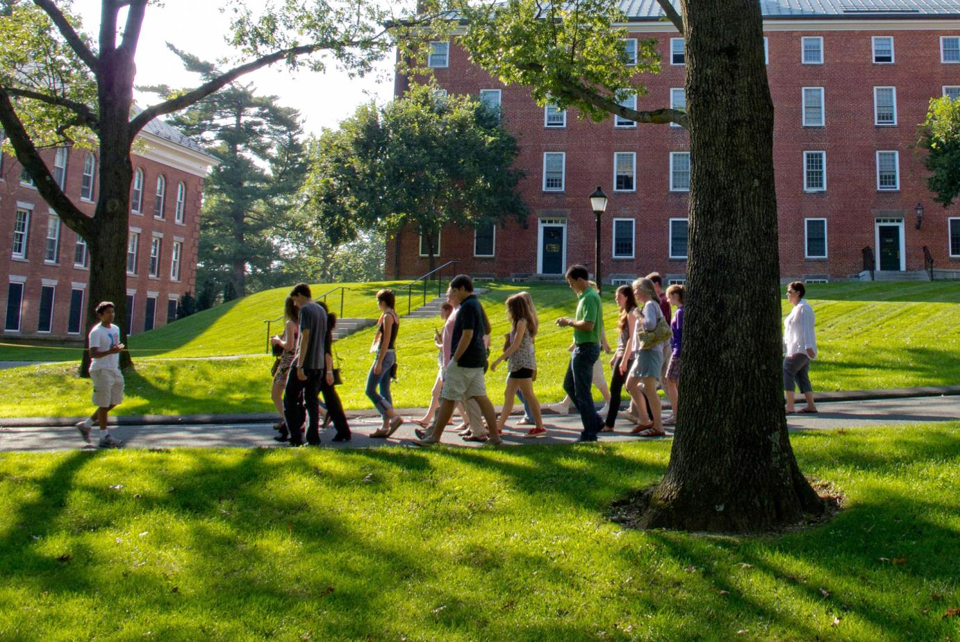 Take a Virtual Tour of the Amherst College Campus