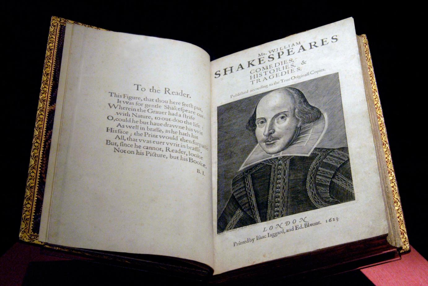 Amherst Named a Host Site for 2016 Shakespeare First Folio Exhibition