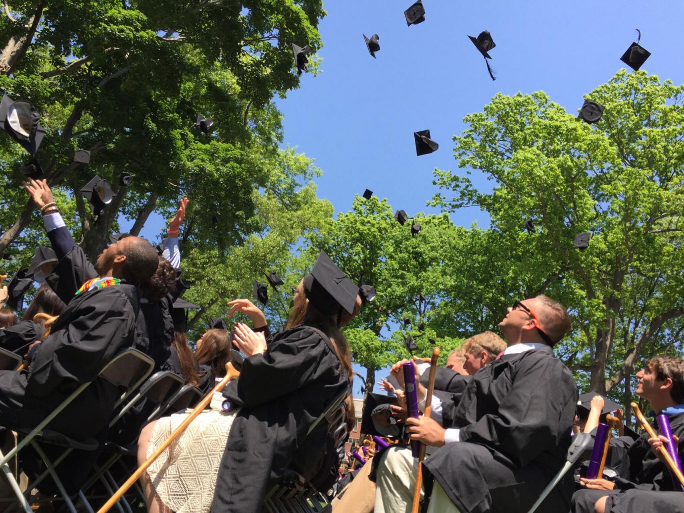 Mind the Caps: Amherst Celebrates 194th Commencement