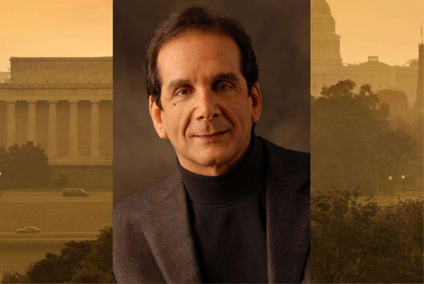 Commentator Charles Krauthammer to Speak on Campus on March 9
