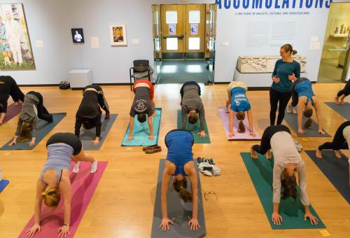 Yoga at the Mead