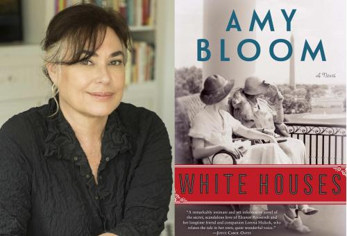 Images of Amy Bloom and the cover of her book