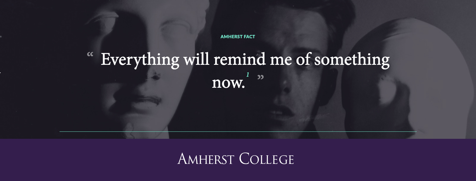 James Merrill Quote