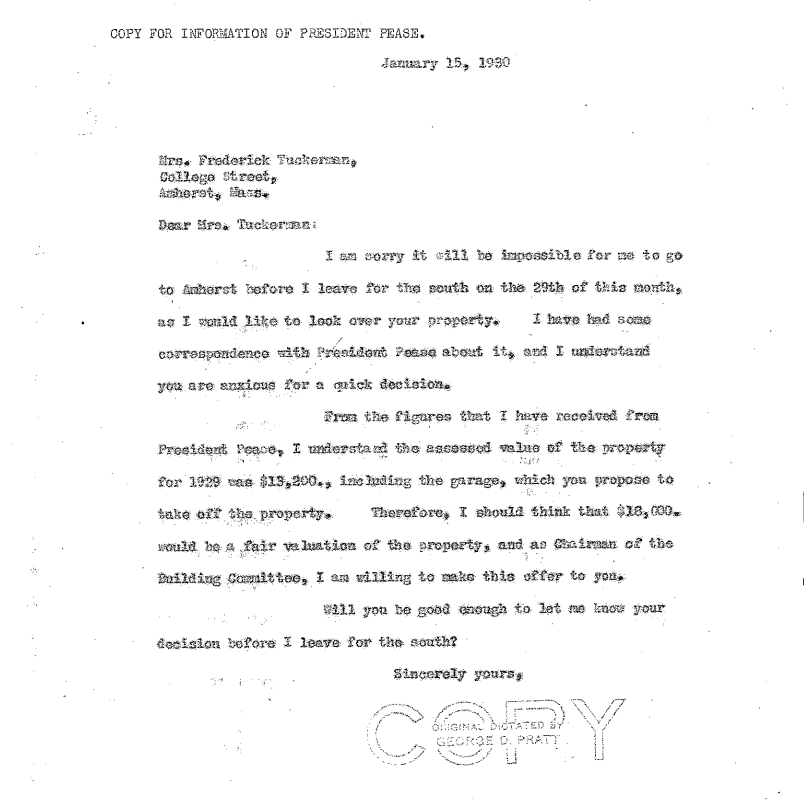 Turner Letter