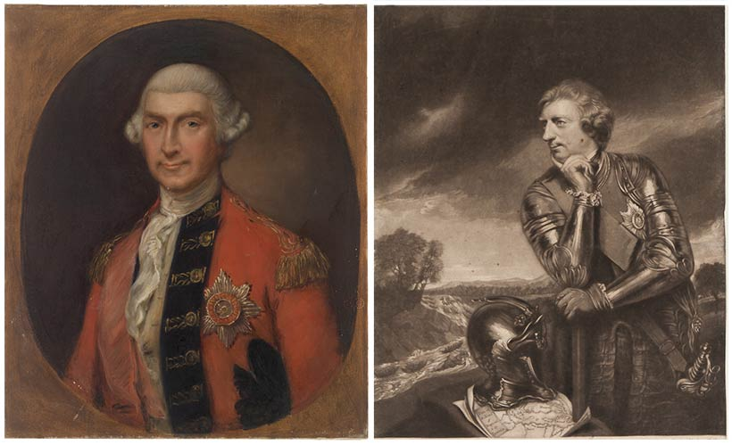 Portraits of Jeffrey Amherst