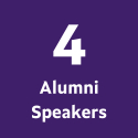 4 Alumni Speakers