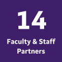 14 Faculty and Staff Partners