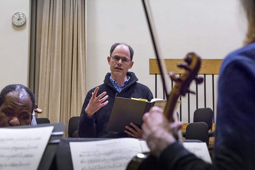 David E. Schneider, Andrew W. Mellon Professor of Music