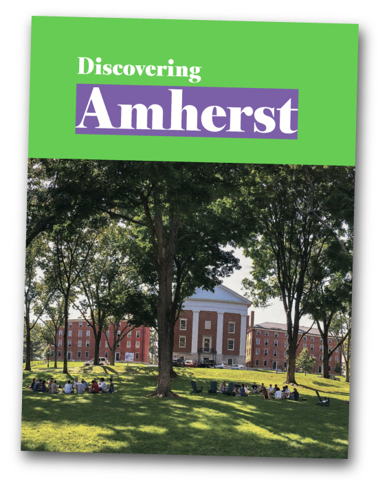 Discovering Amherst viewbook, international version as a PDF