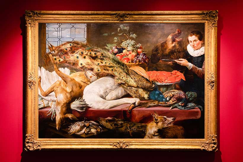 Frans Snyders: Larder with a Servant