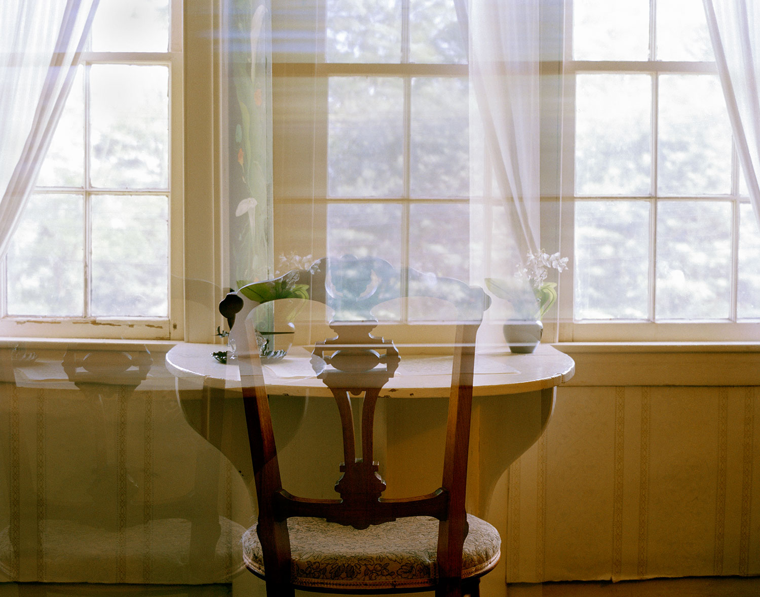 Lisa McCarty, Louisa May Alcott's Desk, Orchard House, 2015. Image courtesy of the artist.