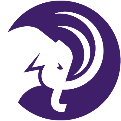 Amherst mammoth head logo