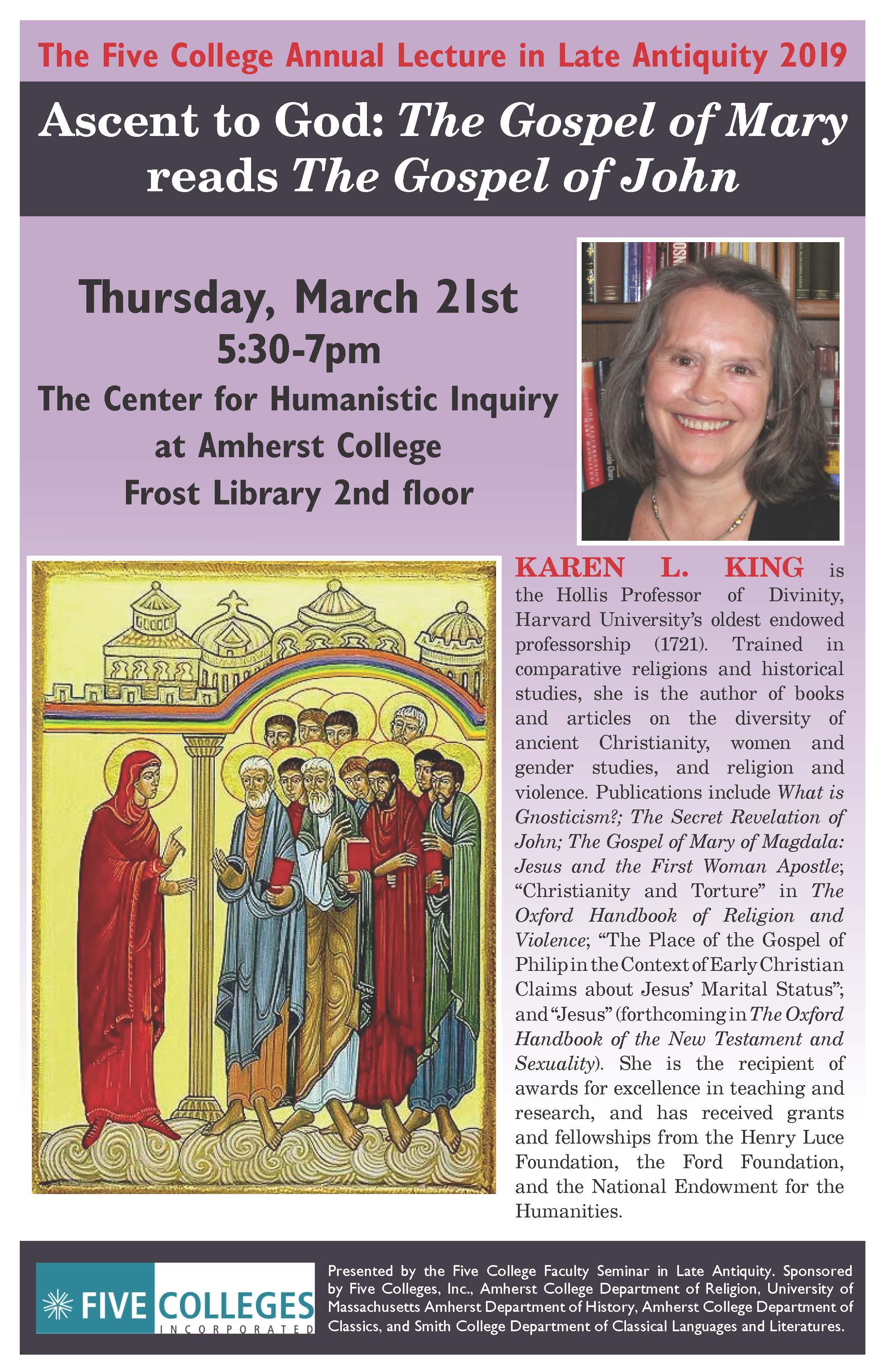Karen King Lecture