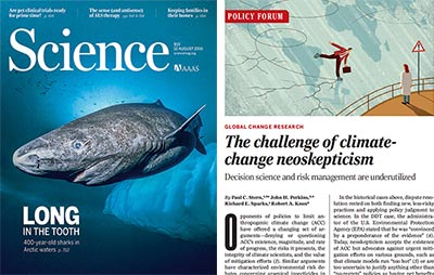Science magazine article