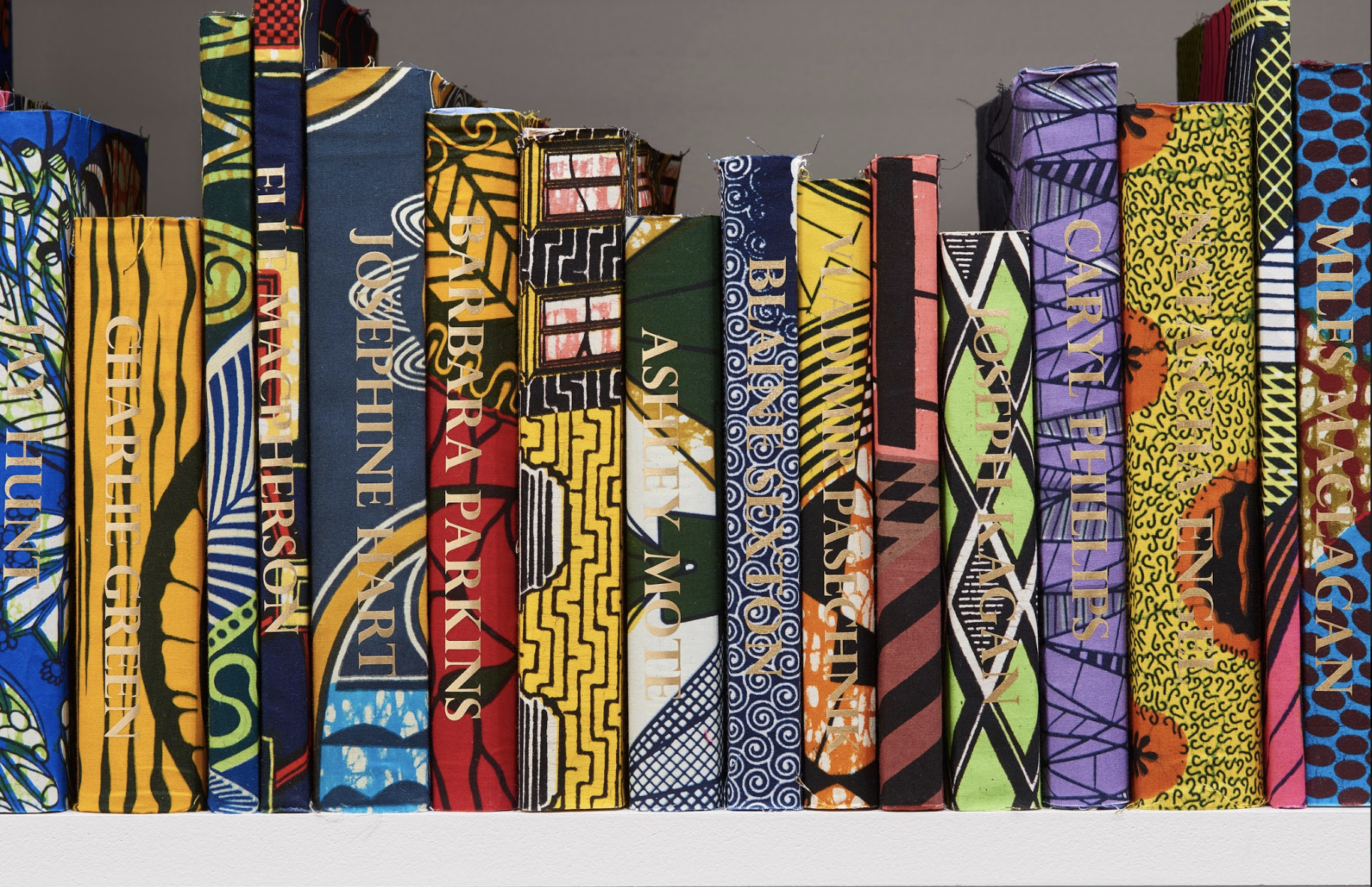 Yinka Shonibare MBE: The American Library Collection (Activists)