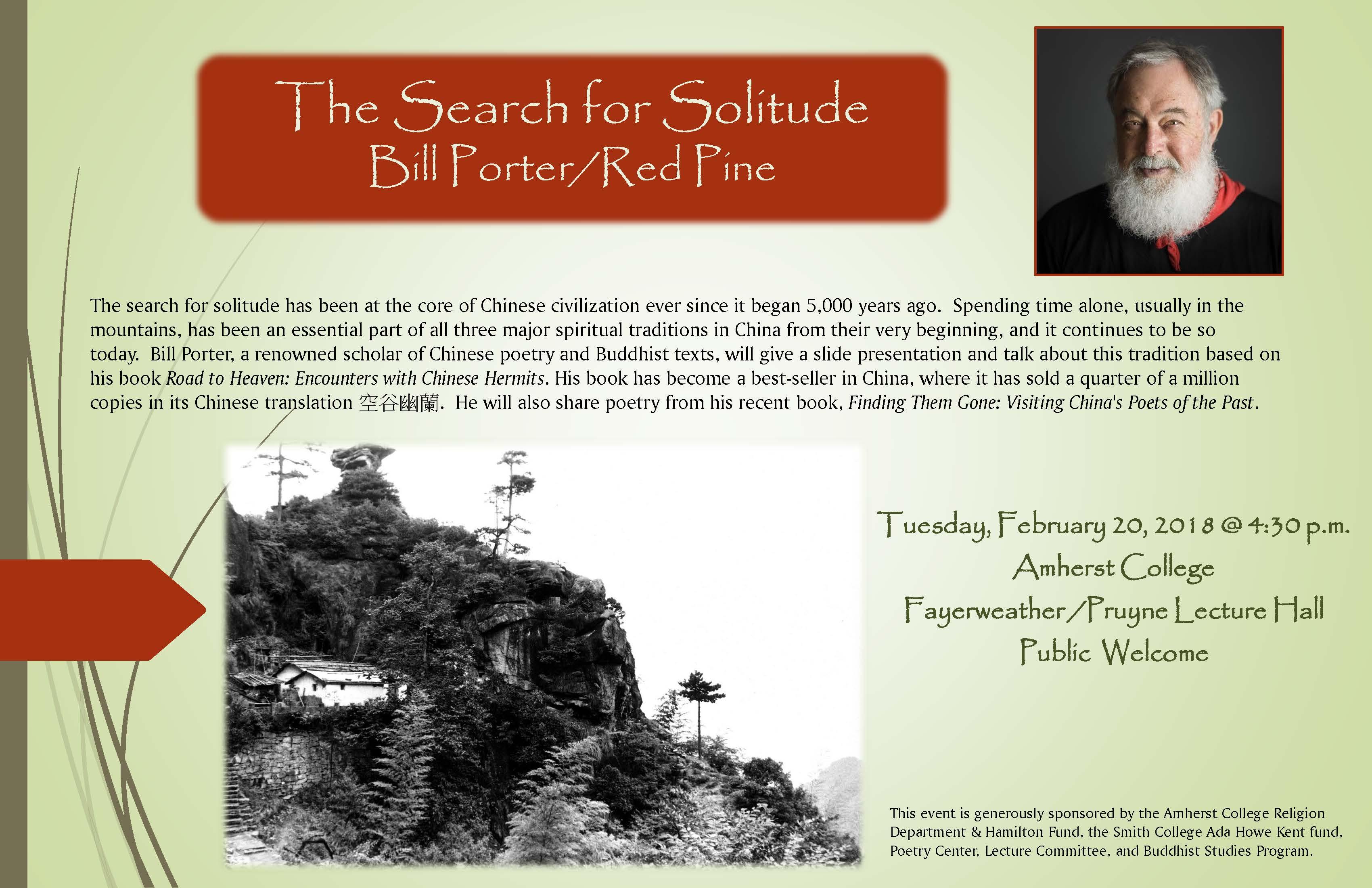 Red Pine - Bill Porter