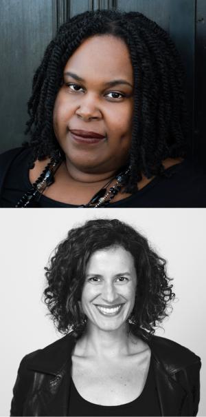 A photo of the authors Renée Watson and Ellen Hagan