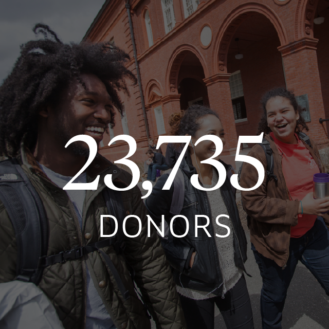 23,735 donors