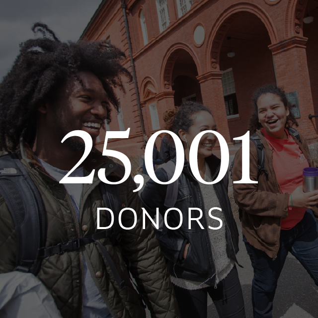 25,001 donors