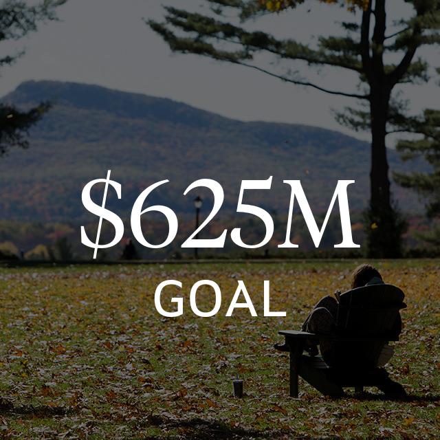$625 million goal