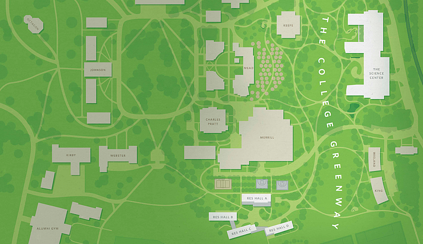 Greenway aerial sketch