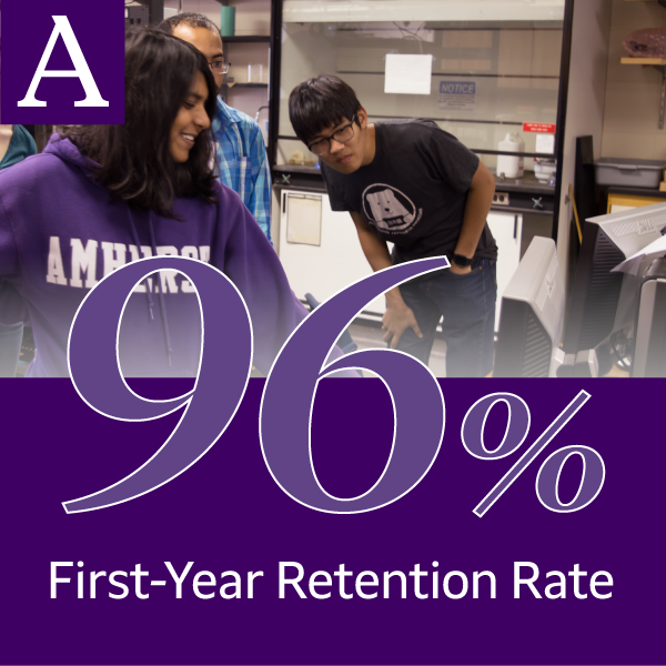 96 percent first-year retention rate